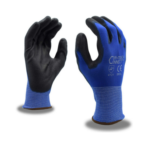 Cordova® 6903 Cor-Touch Connect™ Blue Polyurethane Palm Coated Gloves – Dozen